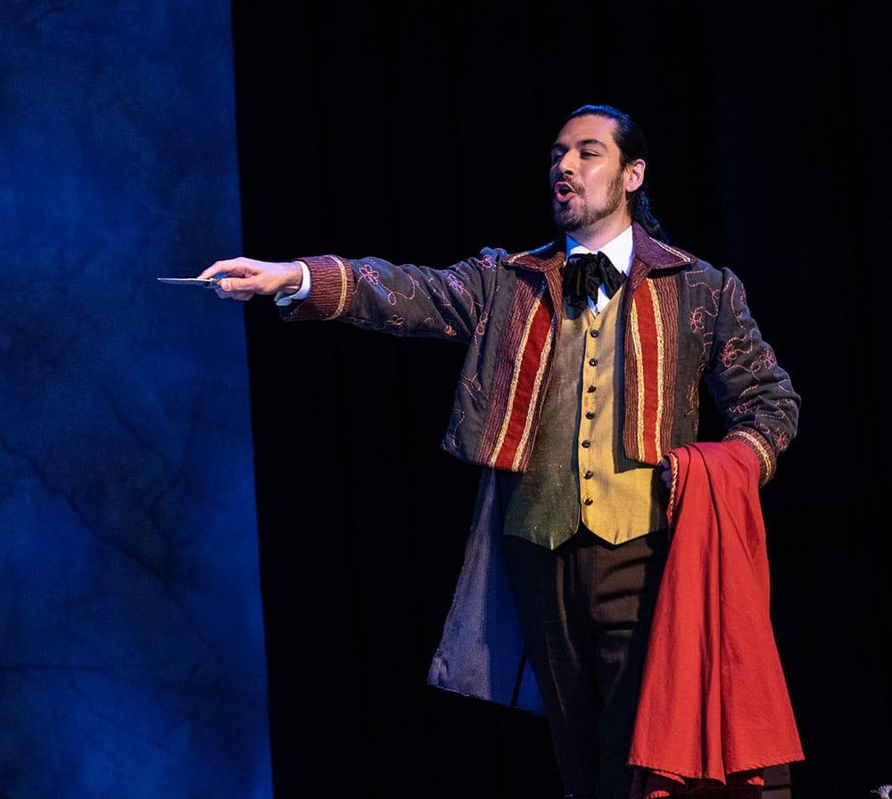 Scene from Carmen at Annapolis Opera