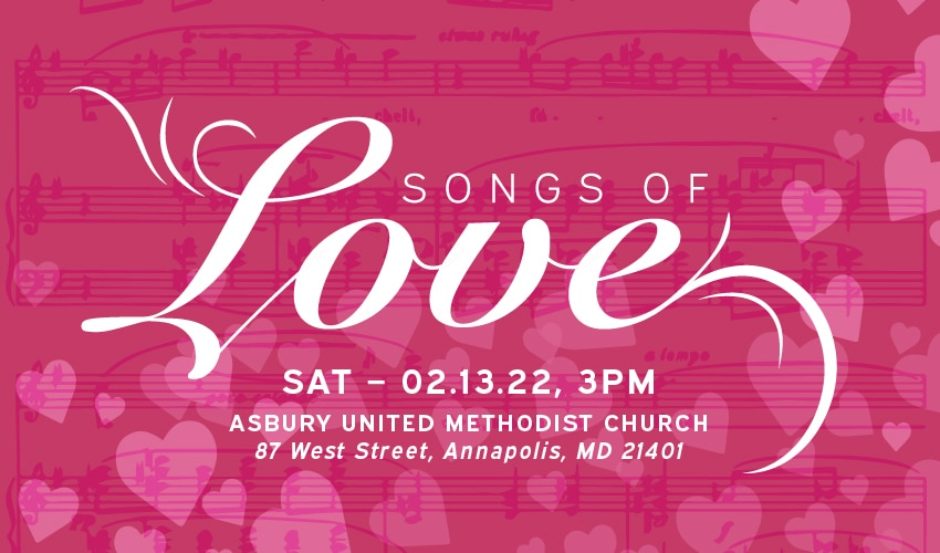 Annapolis Opera Songs of Love