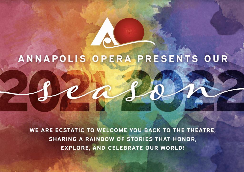 Annapolis Opera 2021-2022 Season